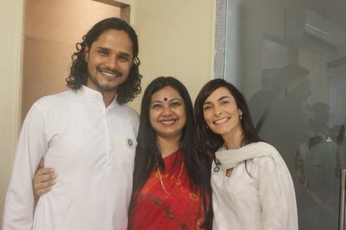 Shurjo, Shubha and Narayani